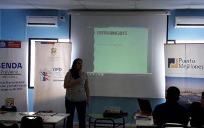 Puerto Mejillones realizó éxito programa social que buscaba prevenir el consumo de drogas en la comuna