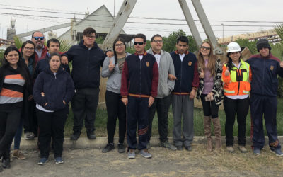 Alumnos del Programa de Integración Escolar del Complejo Educacional Juan José Latorre conocieron las instalaciones de Puerto Mejillones