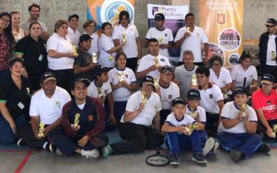 Puerto Mejillones concluyó clínicas de tenis inclusivas con campeonato interno