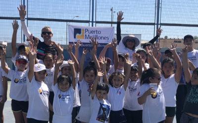 Escuela de Tenis Puerto Mejillones da inicio a su sexto año de funcionamiento