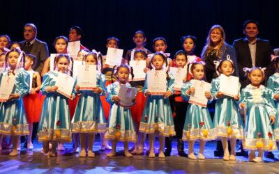 Escuela de Ballet de Mejillones cerró el semestre con un extracto de la Obra Cascanueces