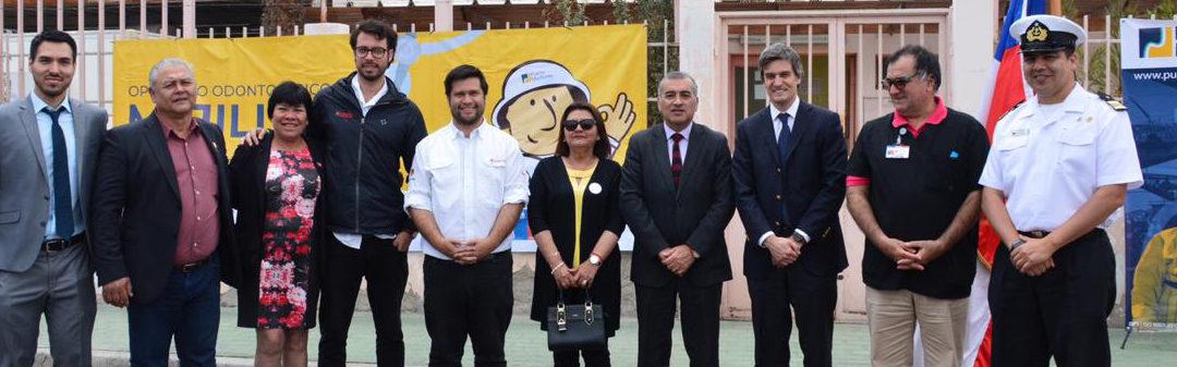 Puerto Mejillones, Desafío Levantemos Chile y la Municipalidad de Mejillones redujeron lista de espera odontológica
