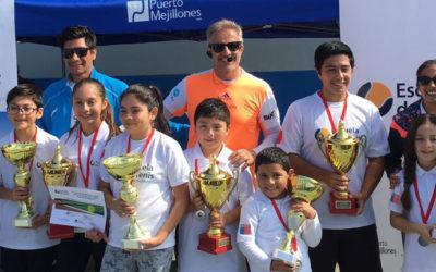 Escuela de Tenis Puerto Mejillones cierra su quinta temporada con campeonato interno