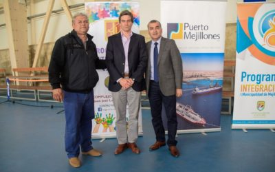 Puerto Mejillones patrocinó campeonato de tenis inclusivo en la comuna
