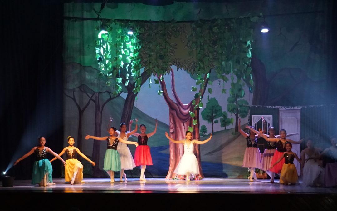 Escuela de Ballet de Puerto Mejillones cerró el semestre con clase abierta a la comunidad