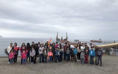 Puerto Mejillones celebró las vacaciones de invierno con los hijos de sus colaboradores