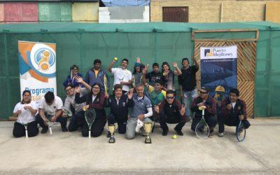 Horacio de la Peña realizó entretenidas clínicas de tenis en Mejillones