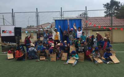 """Niños del programa """"Deporte en tu barrio"""" visitaron Puerto Mejillones"""