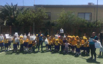 Puerto Mejillones abrió sus puertas a los niños del jardín infantil San Luciano de Mejillones