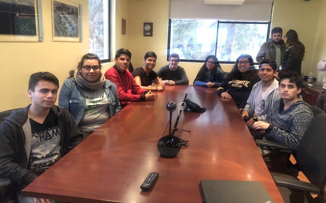 Alumnos de la Universidad Católica del Norte visitan Puerto Mejillones
