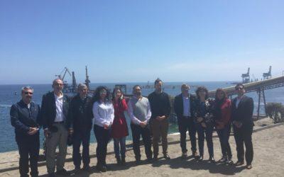 Delegación del Encuentro Internacional Puerto Barranqueras visitó Puerto Mejillones