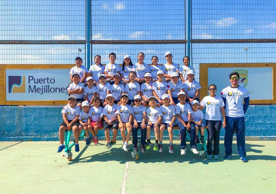 Escuela de Tenis Puerto Mejillones despide su quinto año de funcionamiento