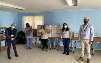Puerto Mejillones entregó aporte a familias de Caleta Hornitos