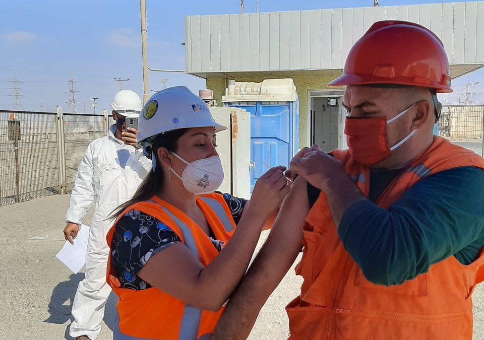 Puerto Mejillones finaliza con éxito campaña de vacunación contra la influenza