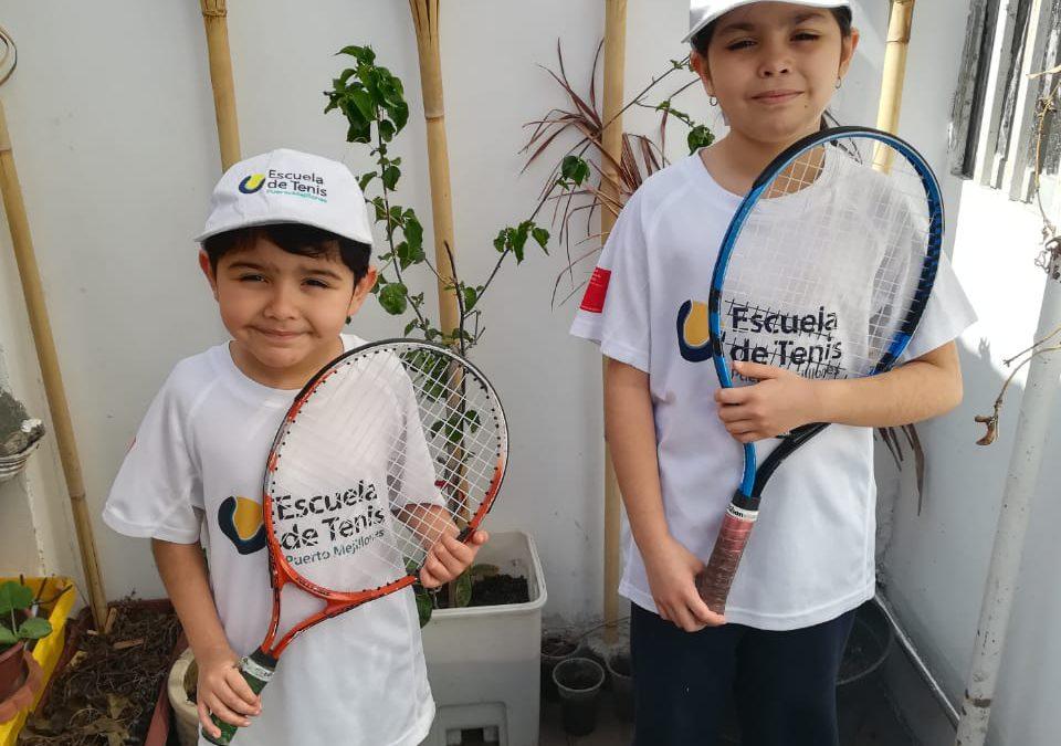 Con clases online, la Escuela de Tenis Puerto Mejillones inauguró la temporada 2021