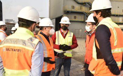 Subsecretario de Minería visita Puerto Mejillones y destaca su rol estratégico para la industria